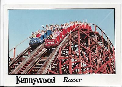 Kennywood Park-The Racer Roller Coaster-Pittsburgh,pa