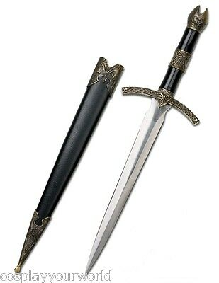 New Lotr Lord Of The Rings Hobbit Witchking Mini Dagger Sword Blade