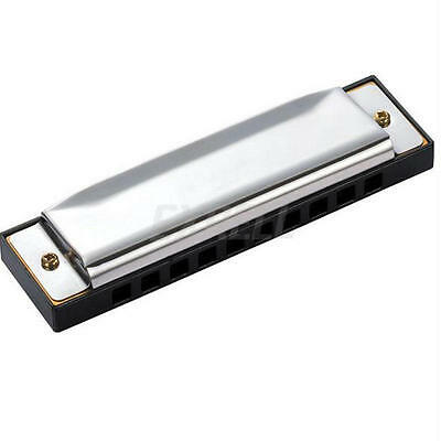 10 Holes Key of C Kids Harmonica Mouth Organ Educational Musical Instrument Toy