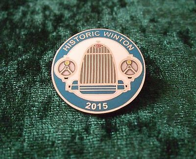 Lapel Badge/pin - Bugatti Radiator - As Featured On Historic Winton 2015 Badge
