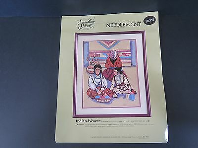 "Needlepoint ""indian Weavers 30549"" Kit"