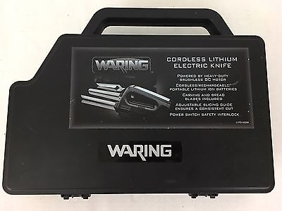 Waring EK120 Cordless Lithium Electric Knife Set