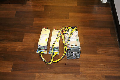 used Bitmain S7 4.73 TH/s Antminer with HP power supply 800 W X 2