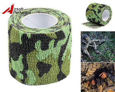5CMx4.5M Bionic Camouflage Stealth Tape for Rifle/Gun Scopes Flashlight Bicycle