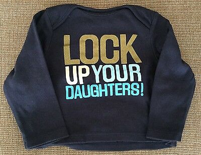 No Added Sugar, 'Lock Up Your Daughters' Long Sleeved Top, 3-6 Months