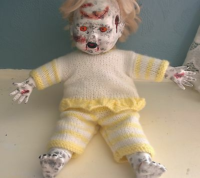 One of a kind horror talking doll