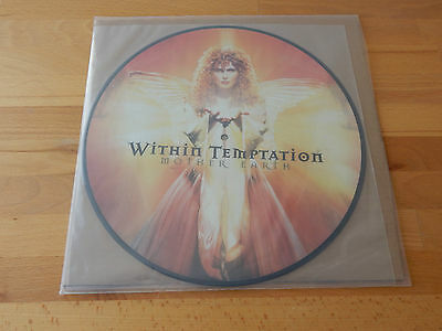 WITHIN TEMPTATION - Mother Earth FIRST PRESS 2001 RAR Pic-Disc Vinyl MINT !