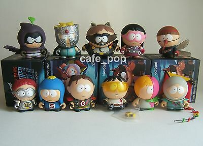 Kidrobot x South Park THE FRACTURED BUT WHOLE: 11 MINI FIGURE LOT Coon Mysterion