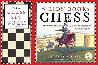 NEW - The Kids' Book of Chess and Chess Set