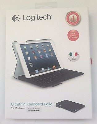 Logitech 920-006099 Tastiera Keyboard Folio m1 Bluetooth per iPad mini