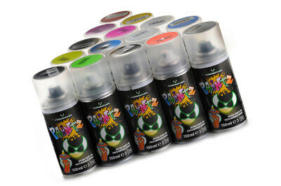 (4,63 EUR/100 mL) Absima-Polycarbonat Spray Paintz fluoresz. orange-150ml