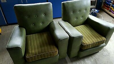 Pair Of original 60s/70s ultra cool armchairs