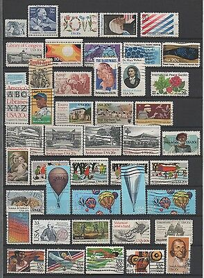 Usa 1982-84 **wonderful Used Collection On Double-Sided Stock Page**