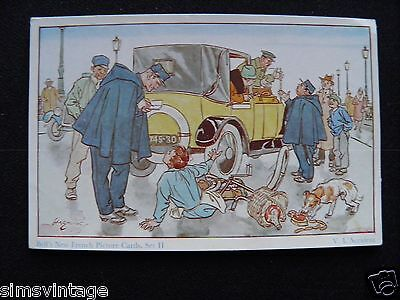 Unusual Weird D Bells New French Picture Cards Set II V.L'accident car crash 3