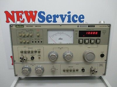 Audio Analyzer Anritsu Selemo Ms330A