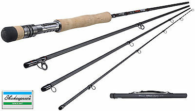 New Shakespeare Sigma Supra Fly Fishing Rod 7ft - 11ft 4pc All Models Available