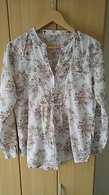Peacocks maternity top size 12