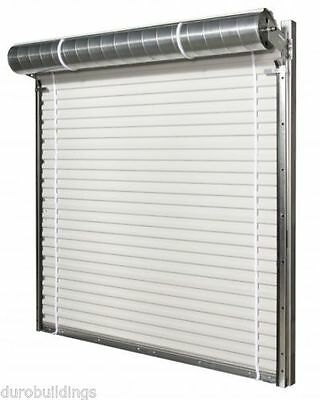 DuroSTEEL JANUS 12' Wide by 14' Tall 2000 Series Commercial Roll-up Door DiRECT