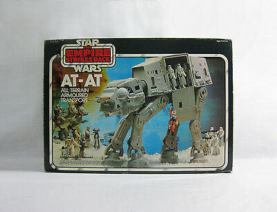 1980 Vintage Star Wars ✧ AT-AT ✧ Palitoy ESB Complete BOXED