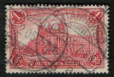 Germany 1902 SG938 1m Red Used CV £3.25