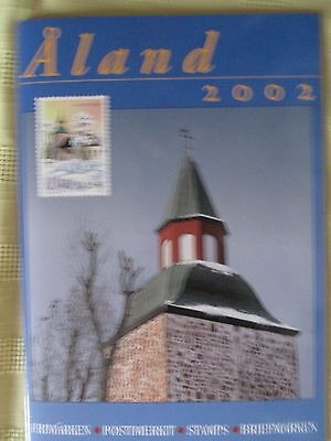 Stamps Aland Year Pack 2002