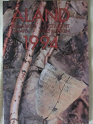 Stamps Aland Year Pack 1994