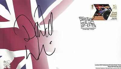 David Weir Signed Olympic 1St Day Cover London 2012 Paralympics