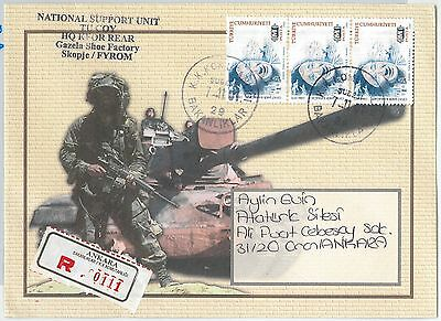 60038  -  Kosovo - Postal History - Balkan Wars: Turkish Troops  2001