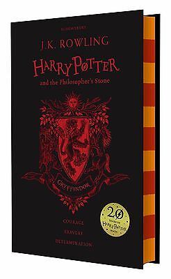 Harry Potter and the Philosopher's Stone 20th Anniversary Gryffindor Ed Hardback