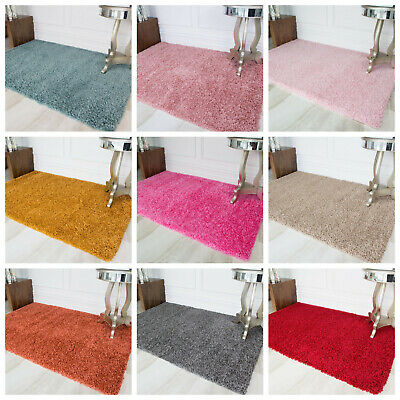 Shaggy Fluffy Furry Bedroom Floor Bedside Bed Side Mat Warm Soft Thick Deep Rug