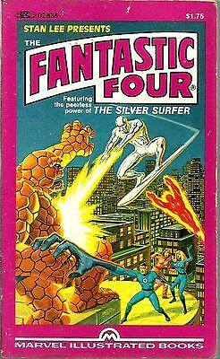The Fantastic Four Silver Surfer Marvel Paperback Vfn