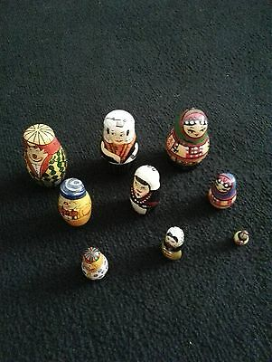 Three Sets  Russian Dolls