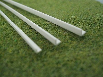 Angle Styrene ABS Strip Section for Architecture Model like Evergreen Plastruct
