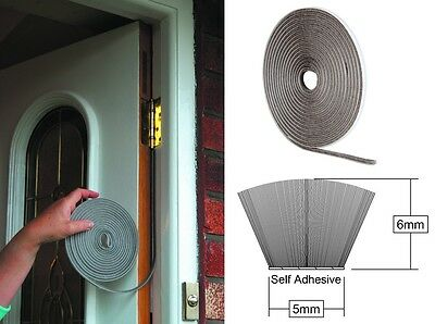 Stormguard Self Adhesive Brush Pile Tape - Draught Excluder For Windows & Doors