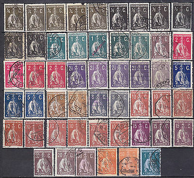 PORTUGAL Ceres 1912- VFU Collection- read and check scans.