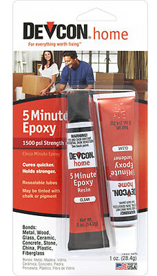 ITW GLOBAL BRANDS - 1-oz. 5-Minute Fast Drying Epoxy