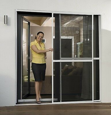 Insect protection Double Sliding Door Fly screen 230 x 240 cm New Sealed