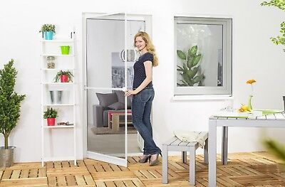 Insect Protection Fly Screen Door Aluminum frame Premium 100 x 210 cm