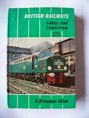 British Railways Today And Tomorrow /book 1960