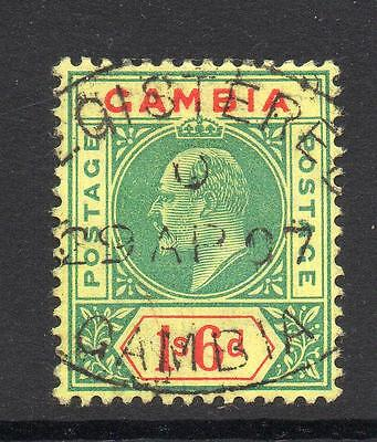 Gambia 1/6 Stamp c1902-05 Used