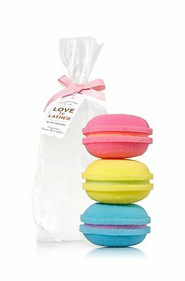 Bath & Body works French Macaroons 3 pack sponge set