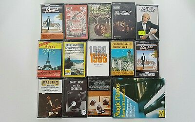 Job Lot Of 14 Albums Cassette Tapes Classical Music
