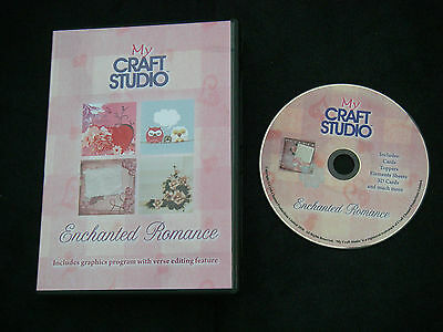 MY CRAFT STUDIO Enchanted Romance CD Rom Graphics Ex Con BARGAIN Craft Clearout