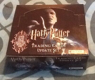 Job Lot 180+ Harry Potter Order Of The Phoenix Update Trading Cards Inc 5 Foil !