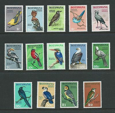 **1967 Botswana Birds Full Set to R2 SG220-233 mint High Cat**