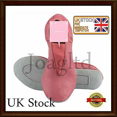 Leather Gymnastic/Dancing Pink shoes/Trampoline/Athletic/ Best quality shoes/