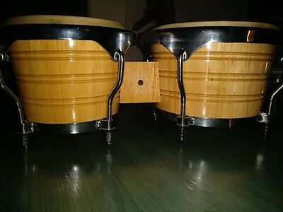 Duo professional bongo drums