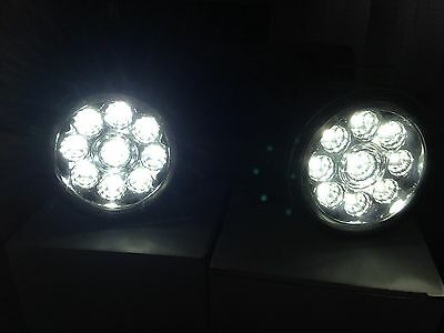 LED Front fog lights Mitsubishi L200  2006 on-wards  DRL LAMPS plug and play