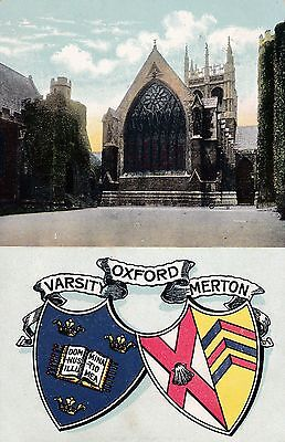 """PPC of """" Oxford   posted 1906"""