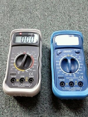 DRAPER and N72CG  DIGITAL MULTIMETER VOLT METER